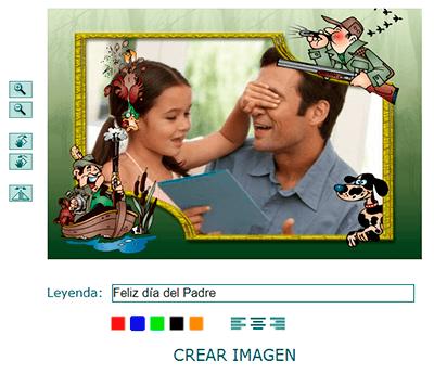 Crear imagen del día del padre