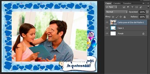 Día del padre Photoshop