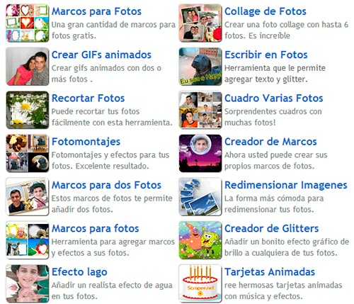 Pagina Para Editar Fotos Collage Online