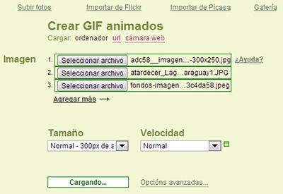 Picasion - Crear GIF online