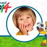 Mundial Brasil 2014: Fotomontajes para fotos