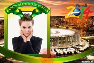 Marco para foto por el mundial Brasil 2014