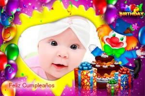 Marcos de fotos para cumpleaños de niños