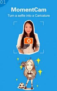 MomentCam: Descargar gratis aplicación para convertir a caricaturas tus fotos