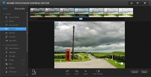 Photoshop Express, editor de fotos simple