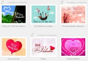 San Valentín: Tarjetas virtuales gratis